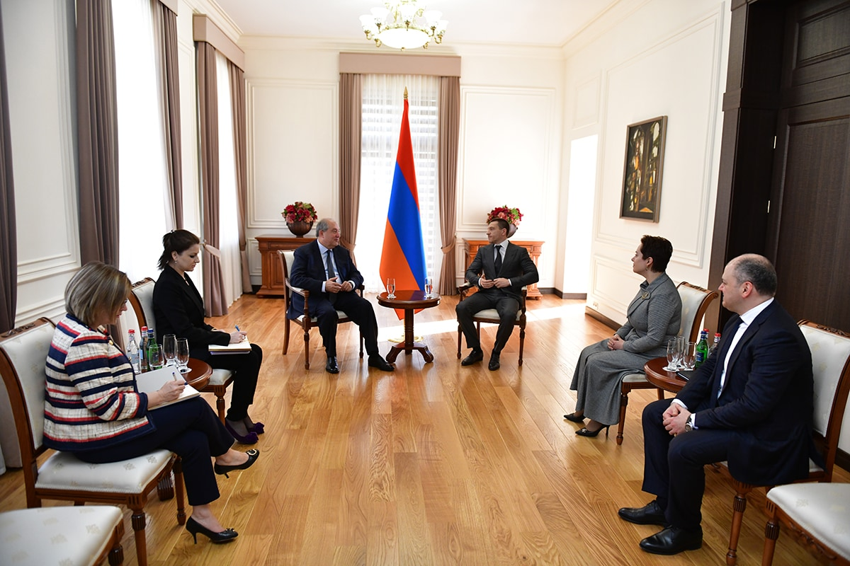 super popular 430bc 557e7 President received PwC On Oct 18th 2018 PwC representatives were received by  the President of the Republic of Armenia