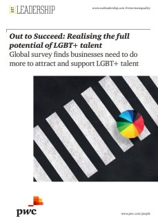 Out to Succeed - Realizing the full potential of your LGBT+ talent