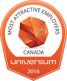 Universum Canada most attractive employers 2016