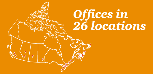 Offices in 26 locations