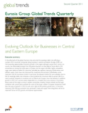 Canadian Deals: Evolving Outlook for Businesses in Central and Eastern Europe