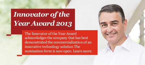 Innovator of the year nomination form