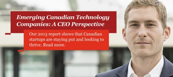 2013 Report: Emerging Canadian technology companies