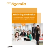 CFO Agenda Issue 4: Achieving deal value