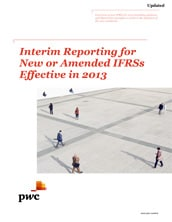 2013-03-07 Interim Reporting for New or Amended IFRSs Effective in 2013