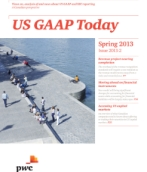 US GAAP Today – Spring 2013