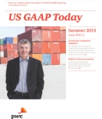 US GAAP Today – Summer 2013