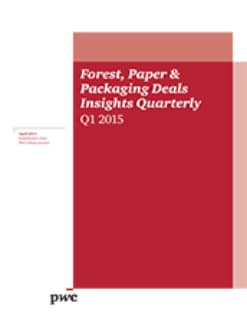 Forest, Paper & Packaging Deals Insights Quarterly