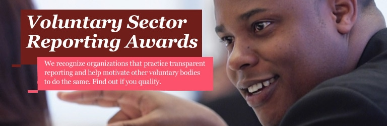 Voluntary Sector Reporting Awards
