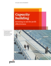 Capacity Building: Investing in not-for-profit effectiveness