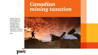 Canadian mining taxation 2016
