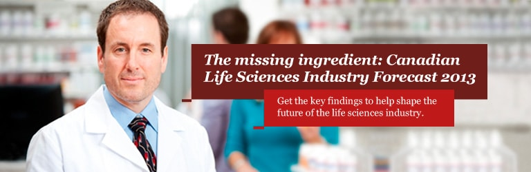 The missing ingredient: Canadian Life Sciences Industry Forecast 2013