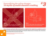10 Myths of multi-channel retailing - #3.