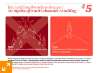 10 Myths of multi-channel retailing - #5.