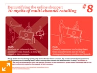 10 Myths of multi-channel retailing - #8.