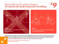 10 Myths of multi-channel retailing. - #9