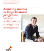 Assuring success in large business programs
