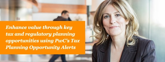 In our current economic recession, tax departments must stay informed of Canada Revenue Agency changes and leverage recovery opportunities whenever they arise. PwC's Tax Planning Opportunity Alerts can help fill the information gap to keep you up to date on tax changes and to capitalize on your recovery.