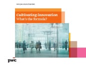 Cultivating innovation : What's the formula?