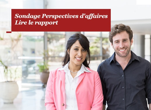 Sondage Perspectives d'affaires