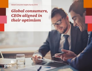 Global consumers, CEOs aligned in their optimism