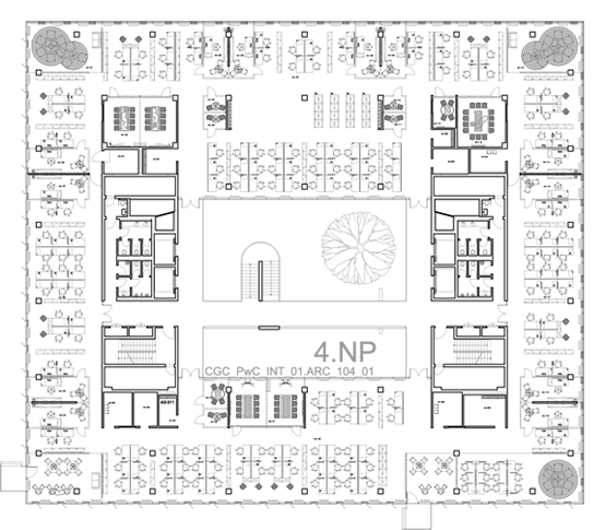 Plan - 4th floor