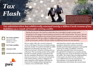 Tax Flash - 29 April 2016