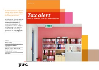 Tax Alert June 2017 - Special Edition