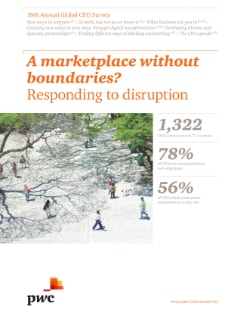 A marketplace without boundaries? Responding to disruption