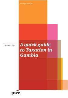 A quick guide to Taxation in Gambia