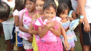Helping to tackle poverty in the Philippines