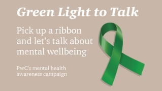 Giving a Green Light to Talk about mental wellbeing