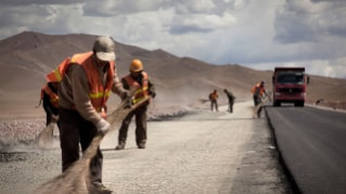 Repaving the ancient Silk Routes