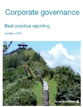 Best practice corporate governance reporting: January 2010