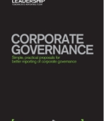 Corporate governance – simple, practical proposals for better reporting