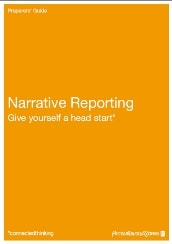 Narrative Reporting Give yourself a head start*