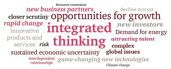 Integrated reporting: Strategy, risk, performance and sustainability have become inseparable