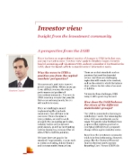 Investor View  - A perspective from the IASB