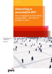 Executing a successful IPO