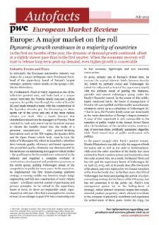 European Market Review – Q3 2015