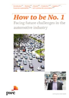 How to be No. 1: facing future challenges in the automotive industry