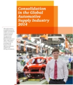 Consolidation in the Global Automotive Supply Industry 2014