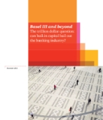 Basel updates: Basel III and beyond: The trillion dollar question