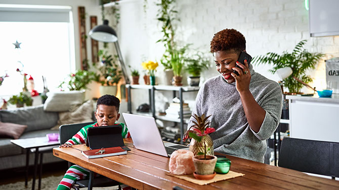The costs of working from home