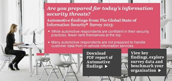 The Global State of Information Security Survey 2013