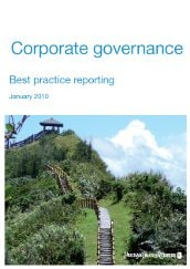 Good practice corporate governance reporting: January 2010