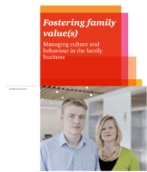 Linking core family values with core business values