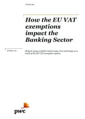 The real impact of the VAT exemption on EU banks