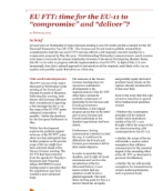 "EU FTT: time for the EU - 11 to ""compromise"" and ""deliver""?"