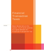 Financial Transaction Taxes: Developing a strategic response